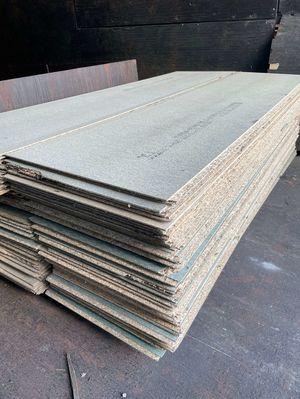 (SECONDS) Loft Boards Flooring T&G Moisture Resistant 3/4inch (18mm)