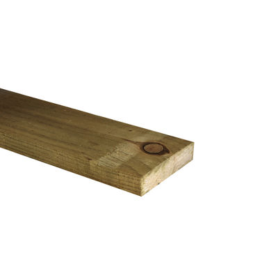 Tanalised Fencing Board 4x1 (100mm x 22mm)