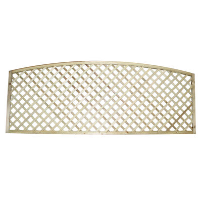 Tanalised Arched Top Diamond Trellis 6x2 (1800mm x 600mm)