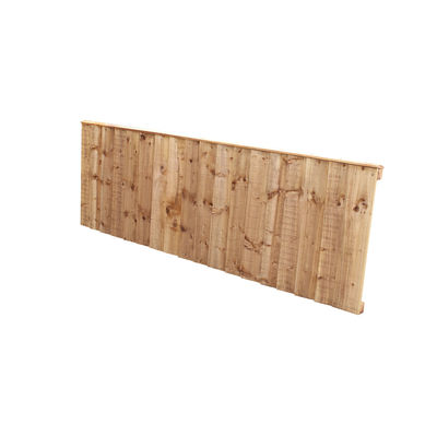 Tanalised Feather Edge Fence Panel 6x2 (1830mm x 610mm)