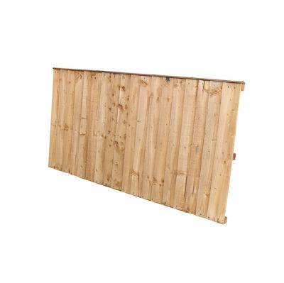 Tanalised Feather Edge Fence Panel 6x3 (1830mm x 915mm)