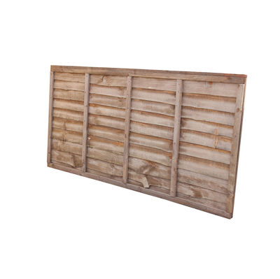 Treated Waney Lap Fence Panel 6x3 (1830mm x 915mm)