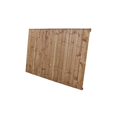 Tanalised Feather Edge Fence Panel 6x4 (1830mm x 1220mm)