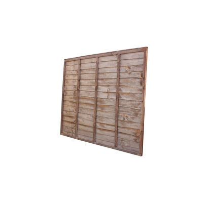 Treated Waney Lap Fence Panel 6x5 (1800mm x 1525mm)