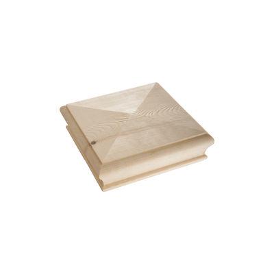Newel Cap Pyramid (125mm x 125mm x 45mm)